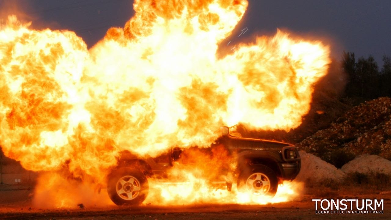 It Is Here... Car Explosions