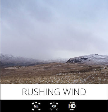 tonsturm rushing wind