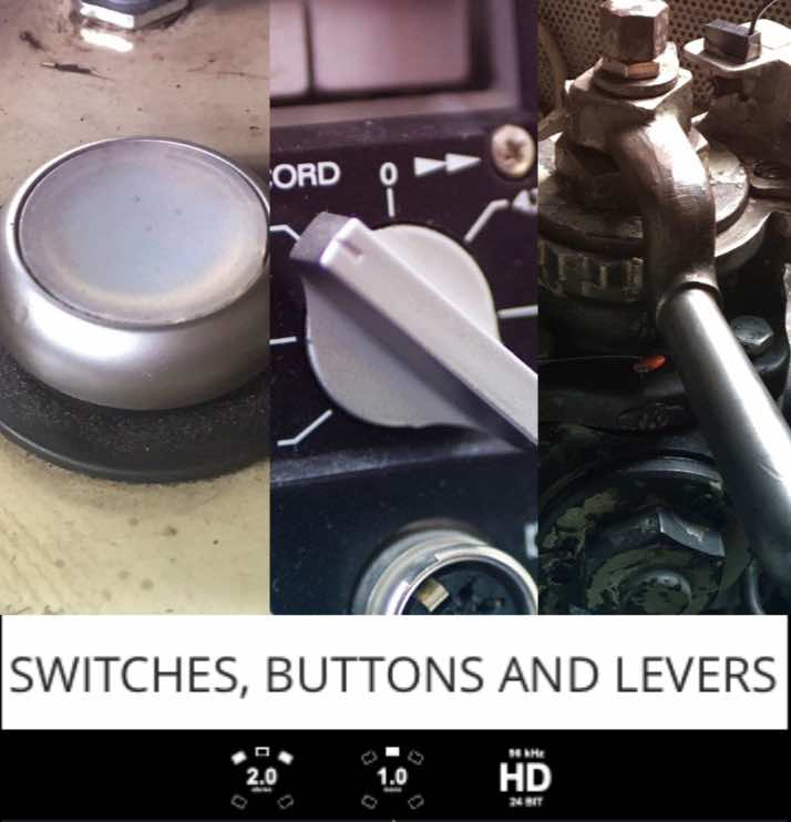 Switches, Buttons And Levers