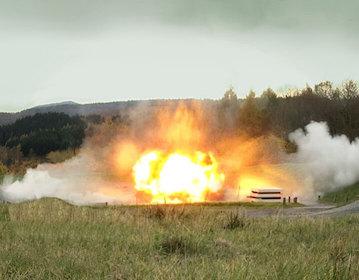 tonsturm massive explosions